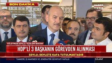 SON DAKİKA...İçişleri Bakanı Süleyman Soylu açıklama yaptı