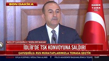 Çavuşoğlu: Rejimin ateşle oynamaması gerekir