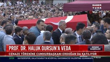 Prof.Dr.Haluk Dursun'unun son yolculuğu