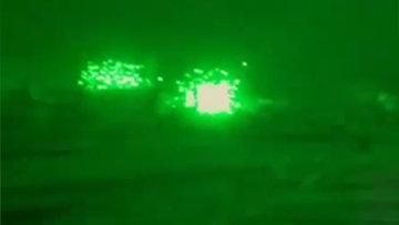 Rejim güçlerinin saldırıları kamerada