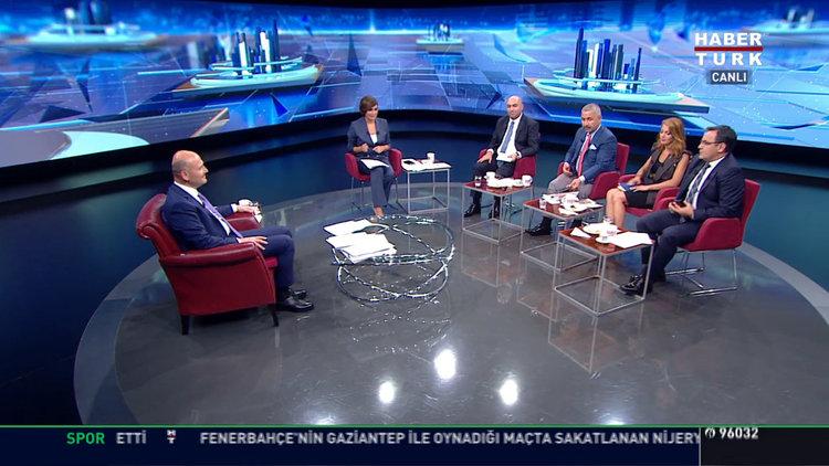 İçişleri Bakanı Süleyman Soylu Habertürk TV'de - 20.08.2019 / 4. Bölüm