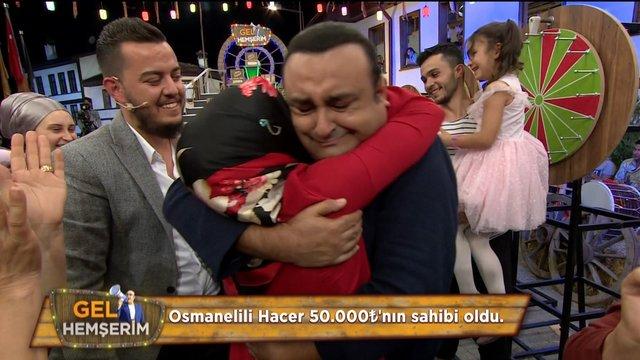 Osmanelili Hacer büyük ödülün sahibi oldu!