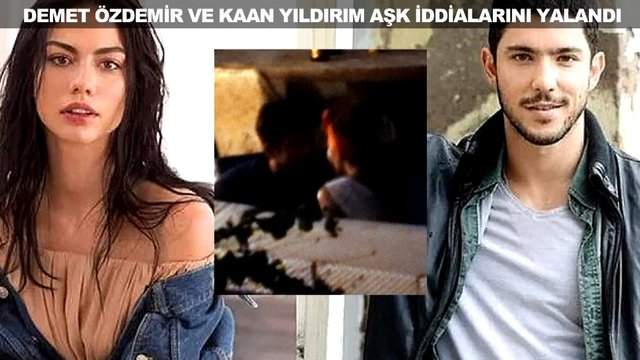 Demet Özdemir ve Kaan Yıldırım aşk iddialarına ne dedi?