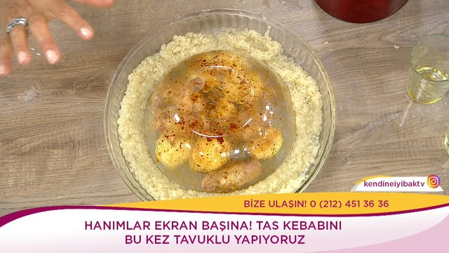 Tavuklu Tas Kebabı