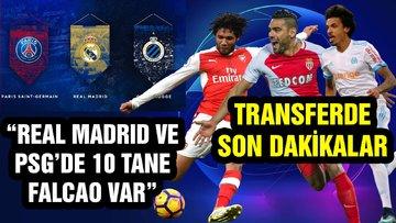 """Real Madrid ve PSG'de 10 tane Falcao var!"" | HTSPOR MUTFAK"