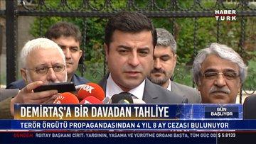Demirtaş'a bir davadan tahliye