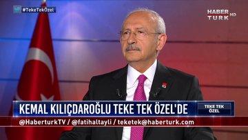 Teke Tek Özel - 3 Eylül 2019 (CHP Genel Başkanı Kemal Kılıçdaroğlu)