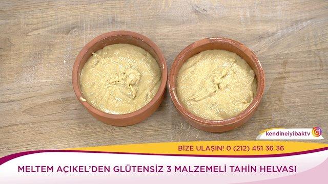 Glutensiz 3 Malzemeli Tahin Helvası