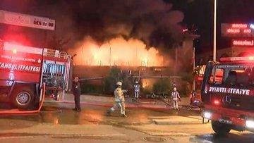 Ataşehir'de restoran yangını
