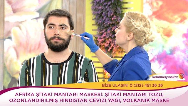 Şitaki mantarı maskesinin bilinmeyen faydaları!