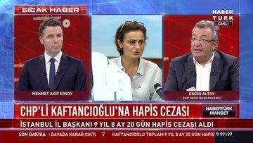CHP Grup Başkanvekili Altay'dan Habertürk'e açıklamalar