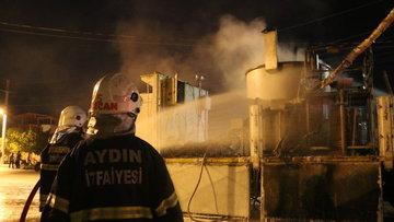 Aydın'da kamyon kasasında patlama: 5 işçi yaralı