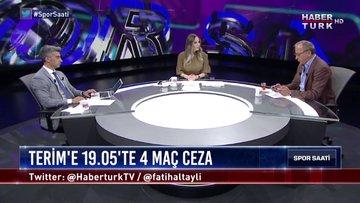 Spor Saati - 9 Eylül 2019 (Ceza neden sadece Terim'e verildi? Türk futbolunu bankalar mı yönetiyor?)