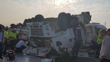Bursa'da feci kaza kameraya yansıdı