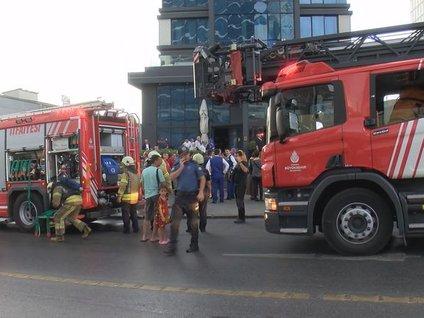 Bayrampaşa'da turistlerin yangın paniği