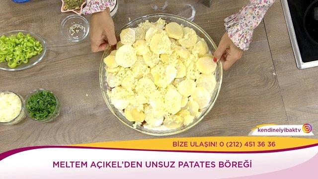 Unsuz Patates Böreği