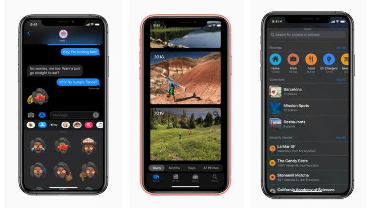 iOS 13 ile gelen yeni özellikler