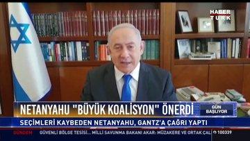 Netanyahu'ya koalisyon çağrısı: