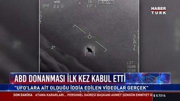 ''Ufo'lara ait olduğu iddia edilen videolar gerçek''