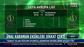 Trabzonspor İspanya'dan puansız döndü