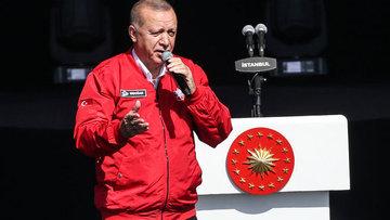 Cumhurbaşkanı Erdoğan'dan TEKNOFEST İstanbul'da önemli açıklamalar