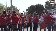 Galatasaray kafilesi Malatya'ya geldi