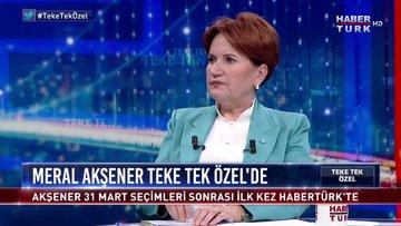 Teke Tek Özel - 24 Eylül 2019 (İYİ Parti Genel Başkanı Meral Akşener)