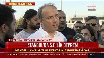 Avcılar Belediye Başkanı Turan Hançerli açıklama yaptı