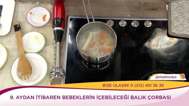 Bebekler için balık çorbası