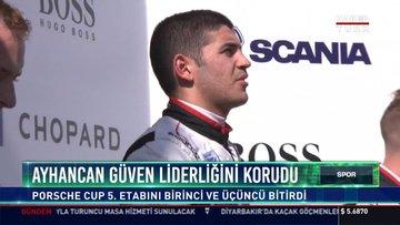 Ayhancan Güven Liderliğini korudu