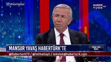 Teke Tek Özel - 1 Ekim 2019 (Ankara Büyükşehir Belediye Başkanı Mansur Yavaş)