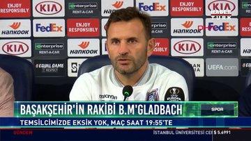 Başakşehir'in rakibi B.M'Gladbach