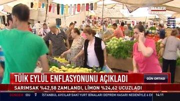 TÜİK Eylül enflasyonunu açıkladı