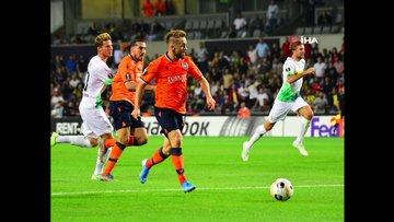 Başakşehir - Mönchengladbach maçının kareleri