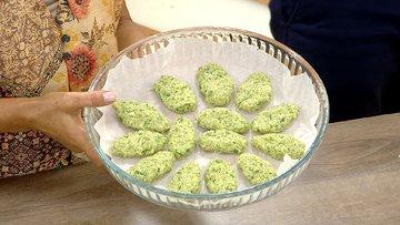 Glütensiz Brokoli Köftesi