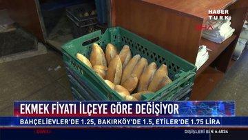 Ekmek fiyatı ilçeye göre değişiyor