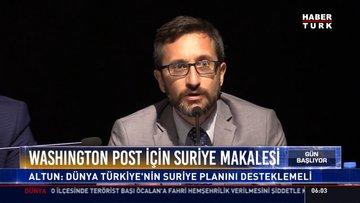Washington Post için Suriye makalesi