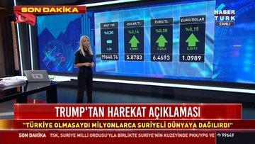 Dolarda gözler ABD - Türkiye ilişkilerinde