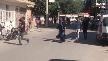 Şanlıurfa Akçakale'ye Tel Abyad tarafından roket ve havan düştü