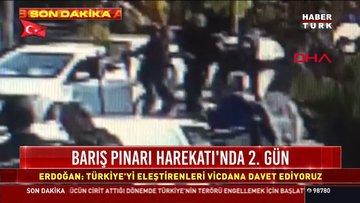Adliyenin arka caddesinde silahlı kavga