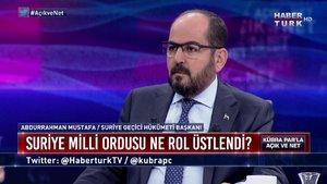 Açık ve Net - 10 Ekim 2019 (Suriye Geçici Hükümeti Başkanı Abdurrahman Mustafa)