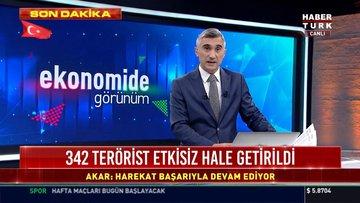 342 terörist etkisiz hale getirildi