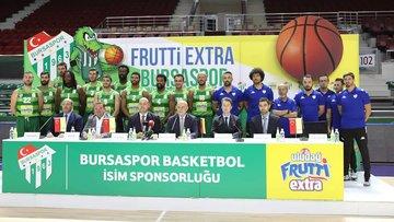 BursasporBasketbol takımı Frutti ExtraBursasporoldu