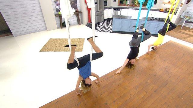 Antigravity Yoga nasıl yapılır?