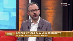 Burası Haftasonu - 13 Ekim 2019 (Gençlik ve Spor Bakanı Dr. Mehmet Muharrem Kasapoğlu)