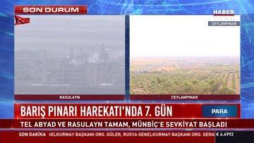 Barış Pınarı Harekatı'nda 7. gün