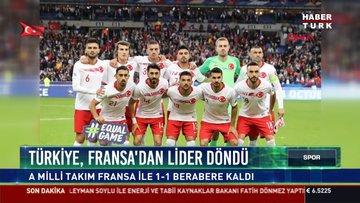 Türkiye, Fransa'dan lider döndü
