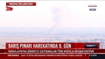 Barış Pınarı Harekatında 9. gün
