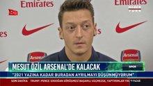 Mesut Özil Arsenal'da kalacak