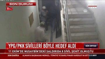 Mardin'de YPG'nin saldırı anı